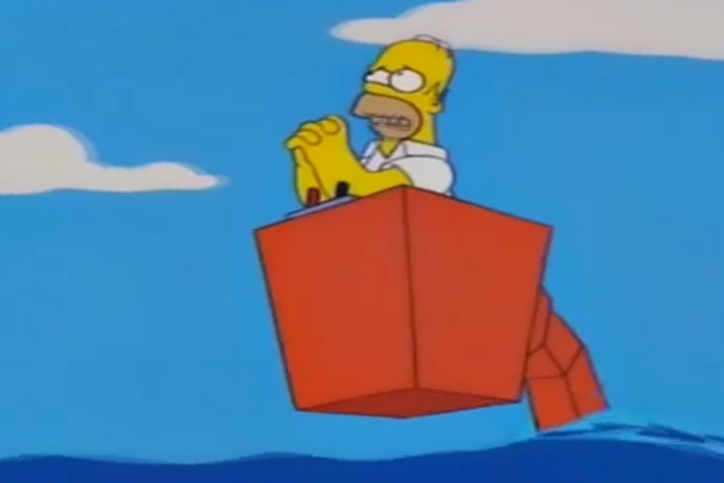 """Si estás ahí arriba, sálvame Superman"" (Homer)"