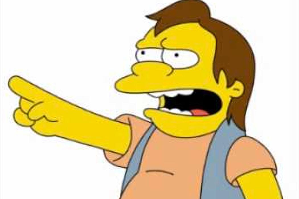 """¡Ha Ha!"" (Nelson Muntz)"