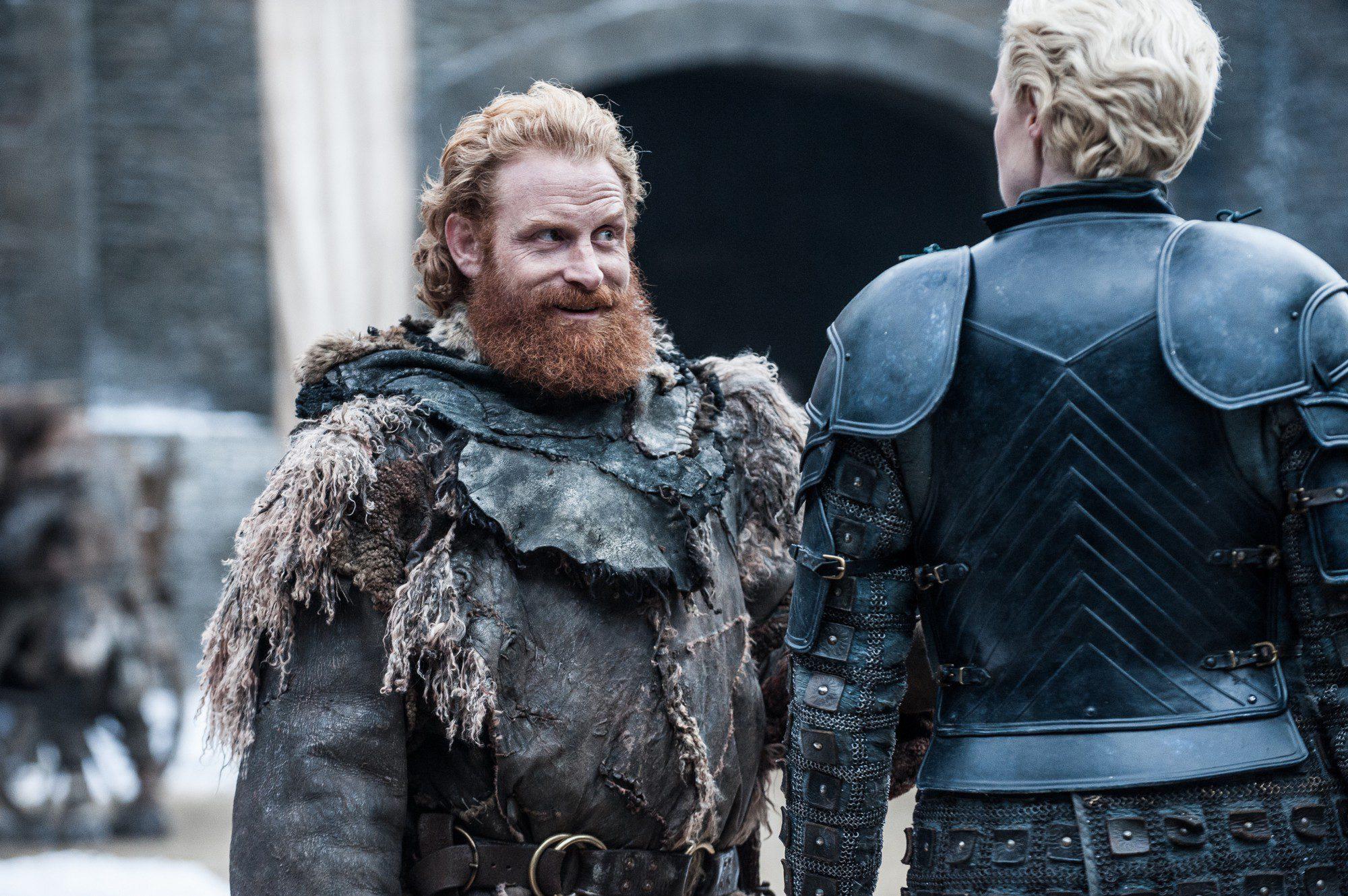 Tormund y Brienne se reencuentran en Invernalia