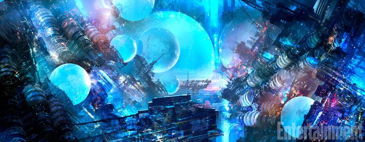 Concept Art de 'Valerian y la ciudad de los mil planetas'
