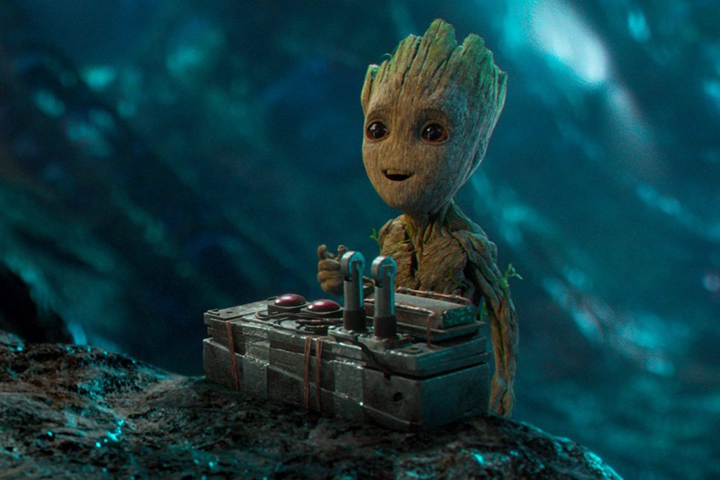 Yo soy Groot en la adolescencia