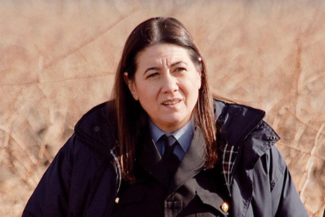 Agente Isabel Ortega (Luisa Martín)