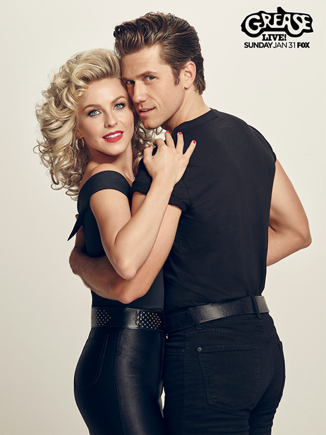Julianne Hough y Aaron Tveit: los nuevos Newton-John y Travolta