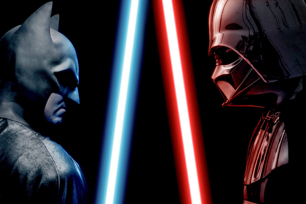 'Batman vs Darth Vader'