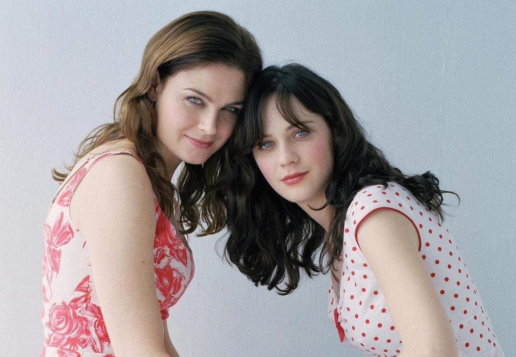Zooey y Emily Deschanel