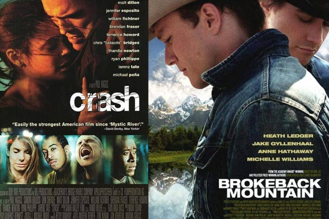 'Brokeback Mountain' vs. 'Crash'