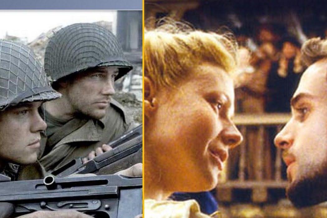 'Shakespeare in Love (Shakespeare enamorado)' vs. 'Salvar al soldado Ryan'