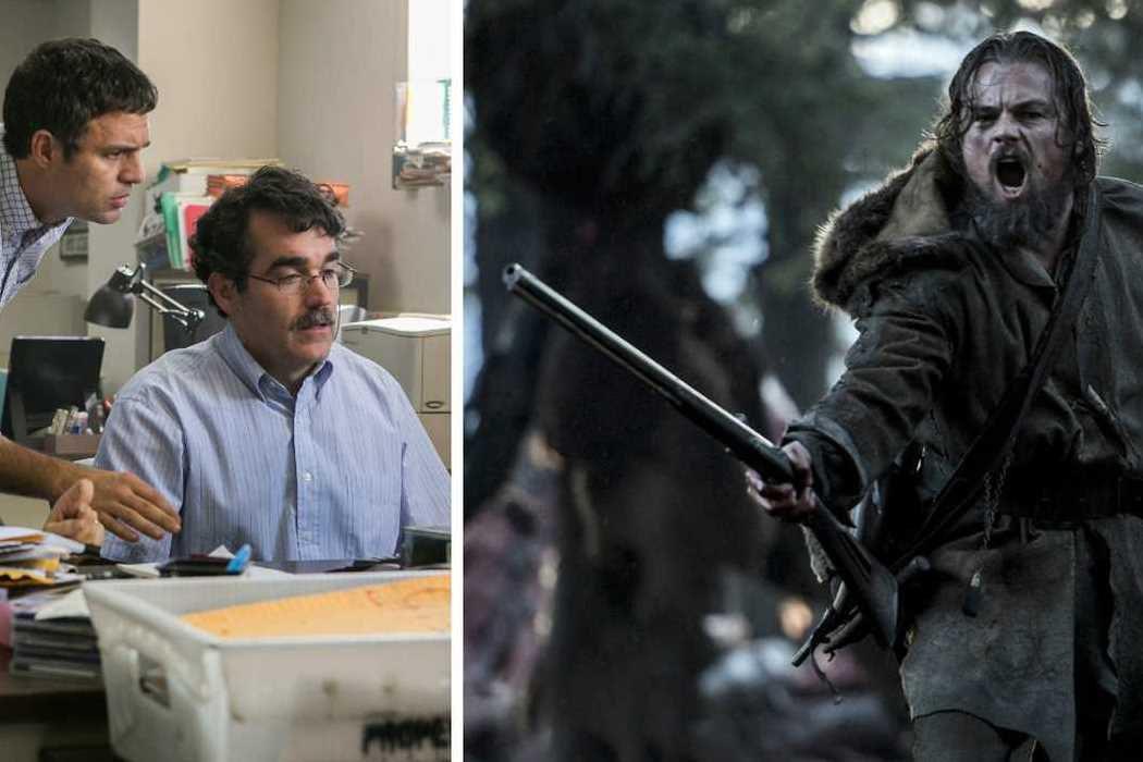 'Spotlight' vs. 'El renacido (The Revenant)' vs. 'La gran apuesta'