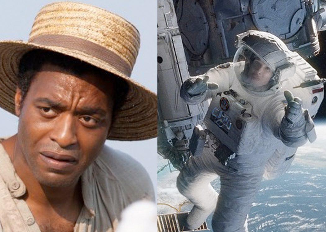 '12 años de esclavitud' vs. 'Gravity'
