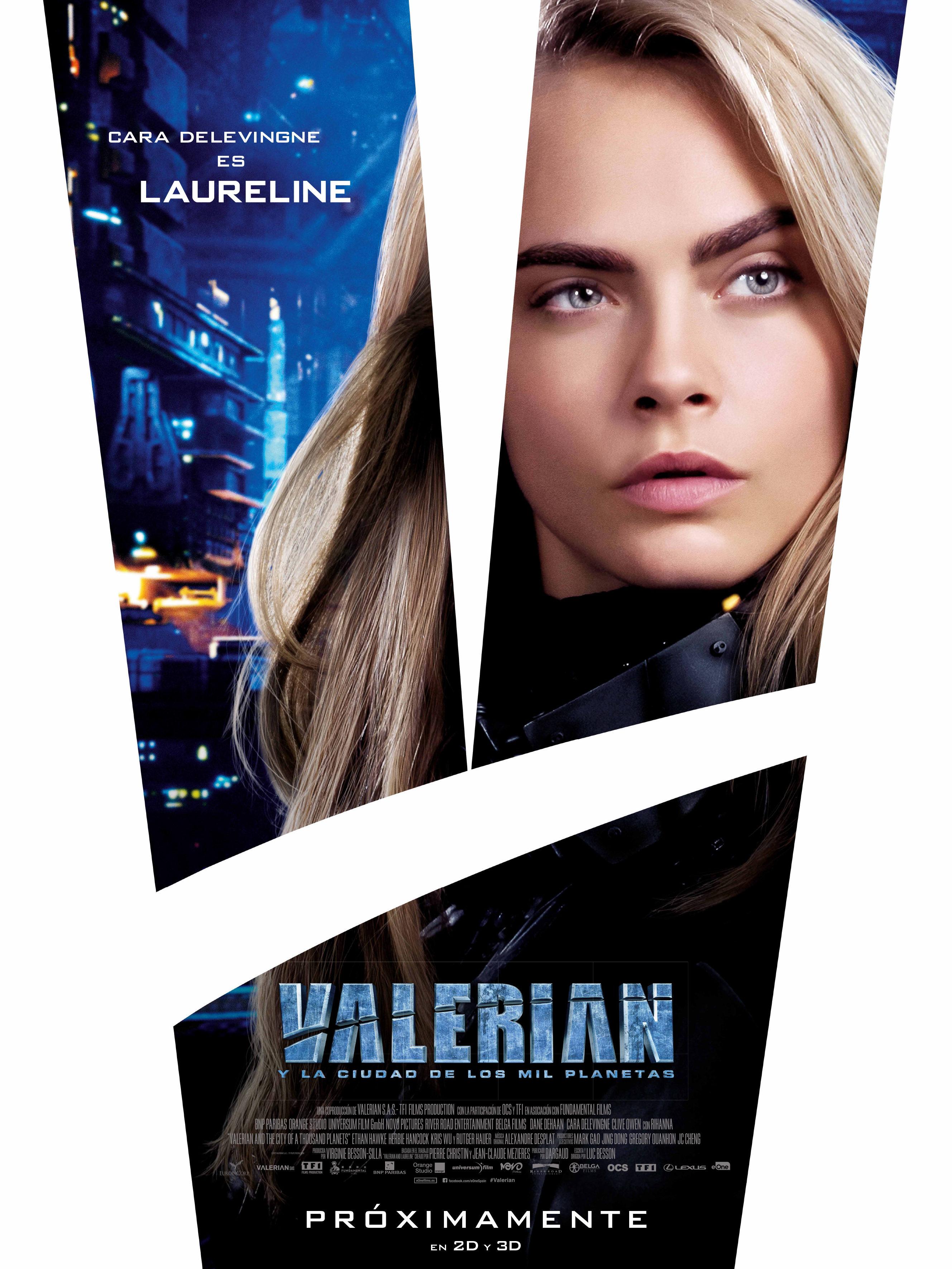 Cara Delevingne como Laureline