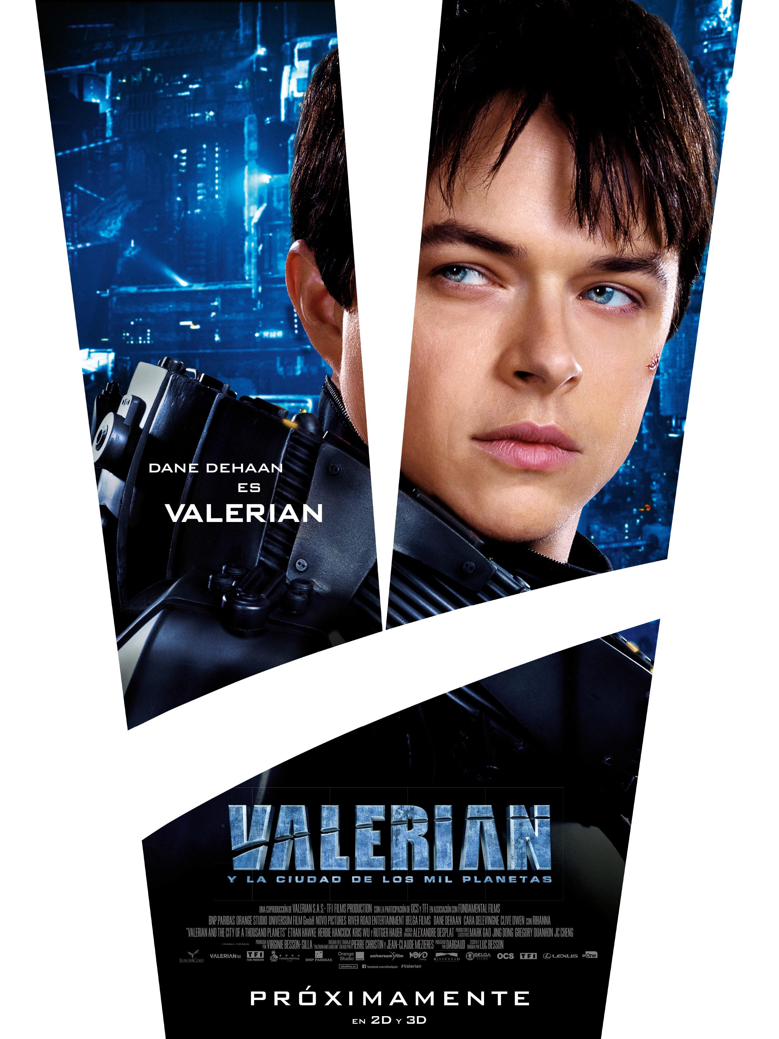 Dane DeHaan como Valerian