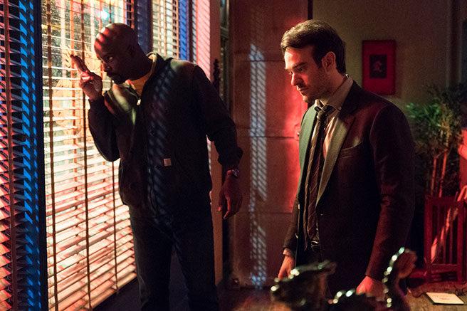 Luke Cage y Daredevil