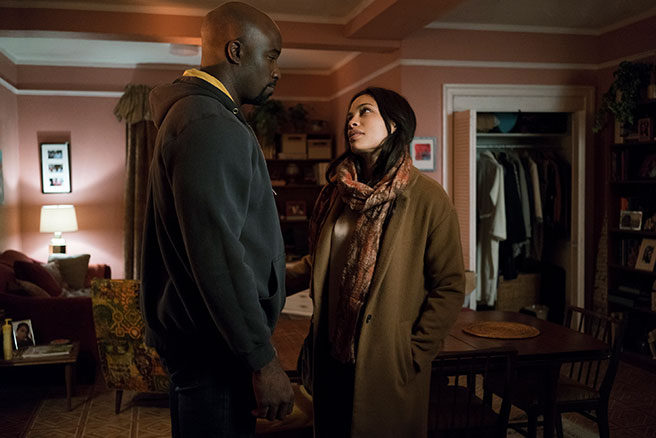 Luke Cage y Claire Temple