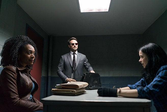 Misty Knight, Daredevil y Jessica Jones