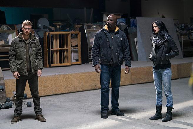 Iron Fist, Luke Cage y Jessica Jones
