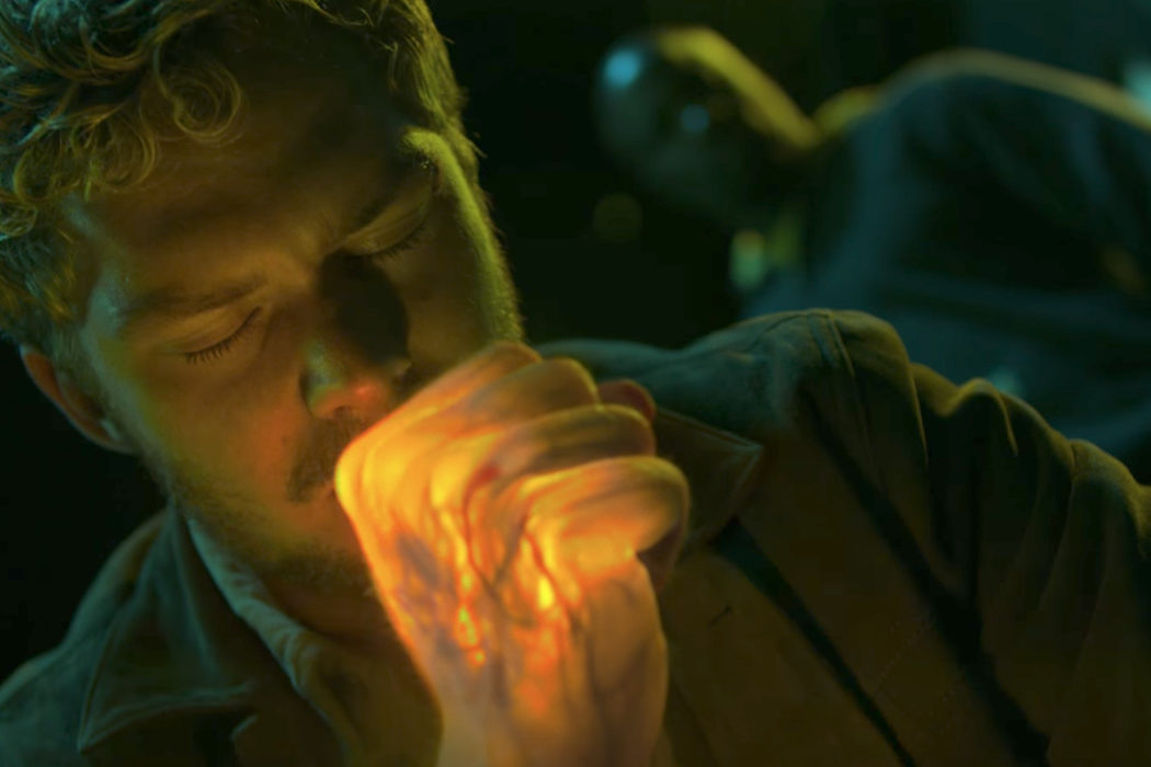 Iron Fist v Luke Cage