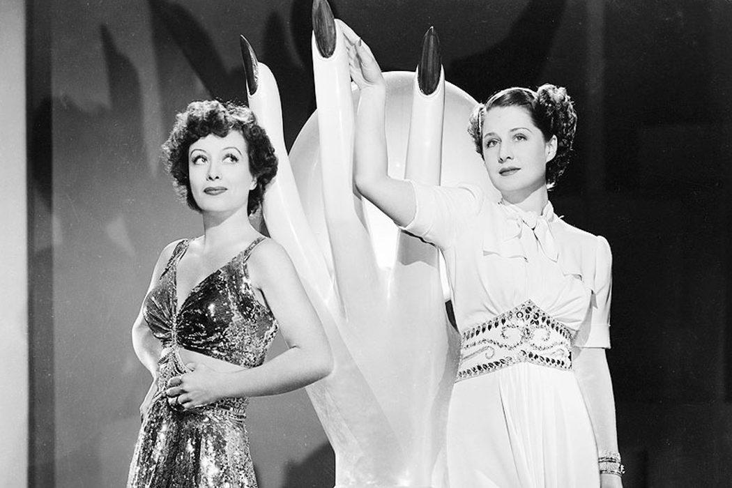 También se llevaba mal con Norma Shearer
