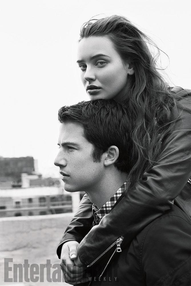 Hannah Baker y Clay Jensen