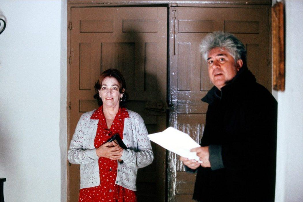 Carmen Maura y Pedro Almodóvar