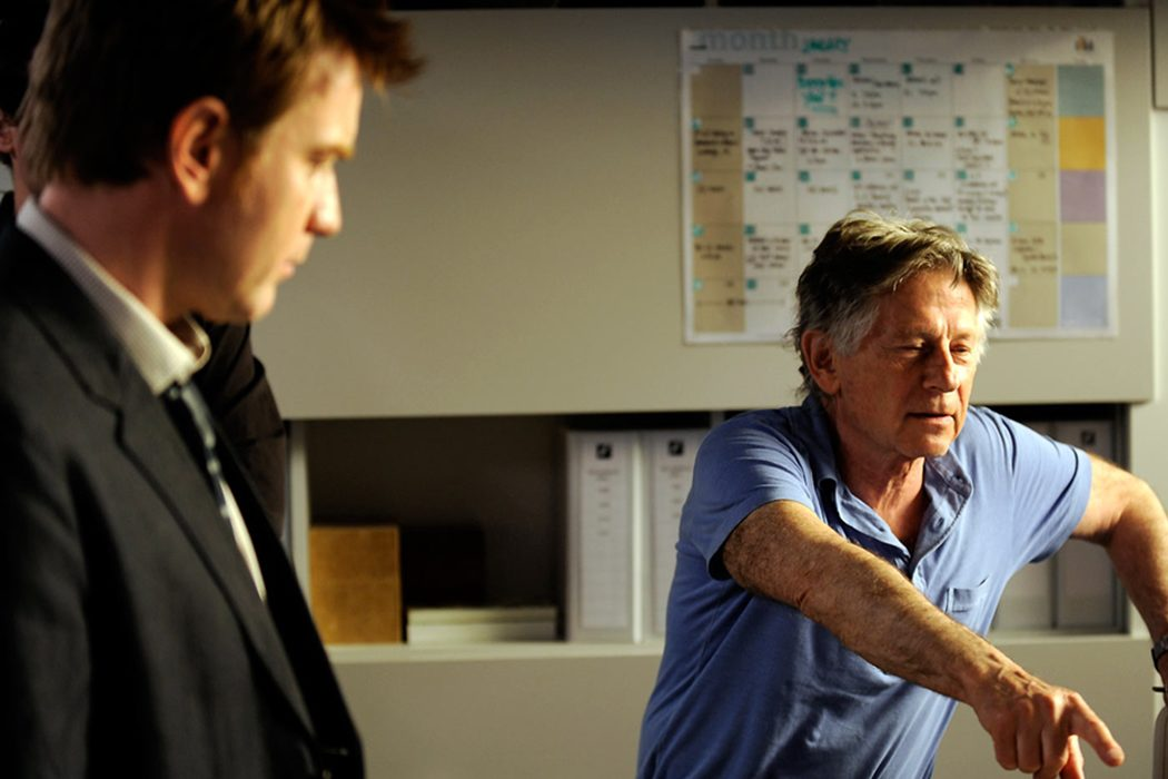 Ewan McGregor y Roman Polanski