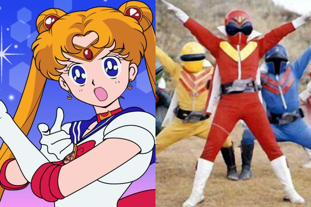 'Super Sentai', la serie que inspiró a 'Sailor Moon'