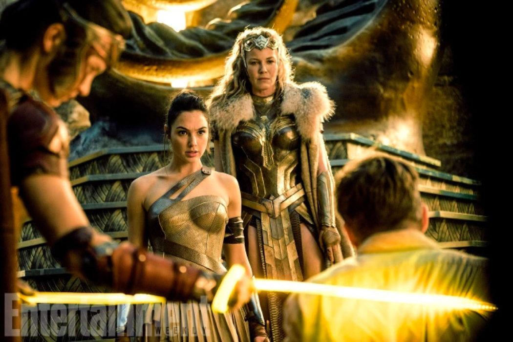 Gal Gadot y Robin Wright en 'Wonder Woman'