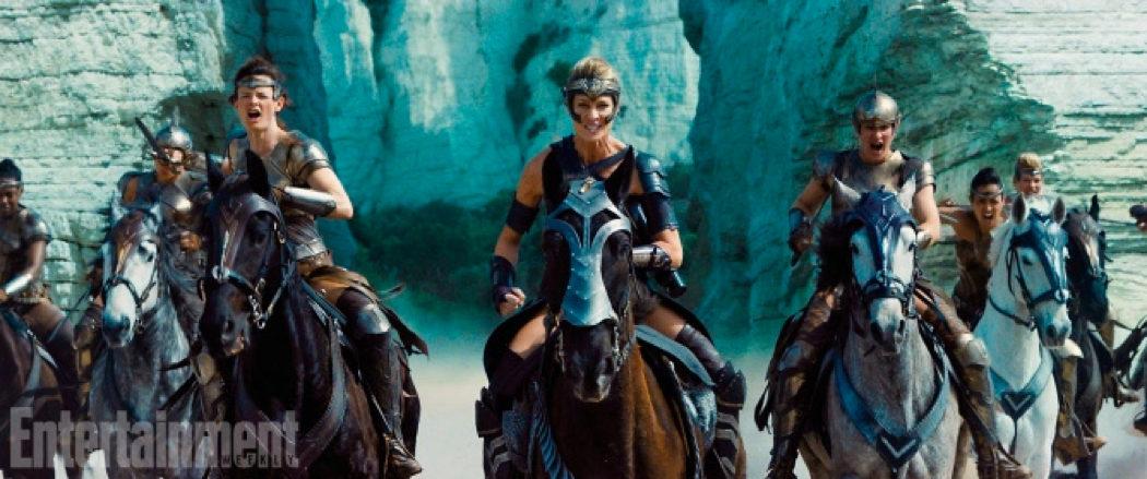 Ejército de Temiscira, 'Wonder Woman'