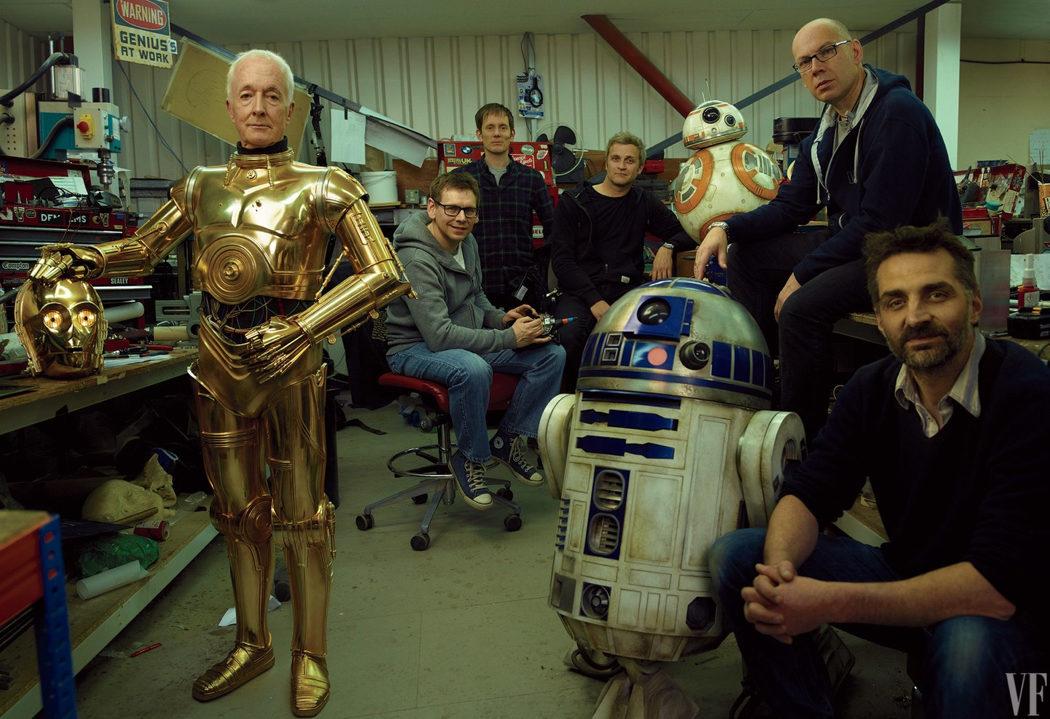 Los droides al poder
