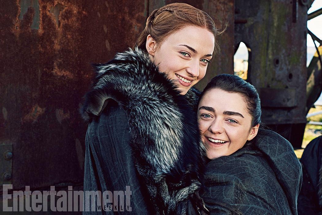 Sansa y Arya