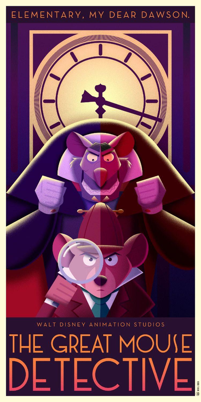 'Basil, el ratón superdetective' (1986)