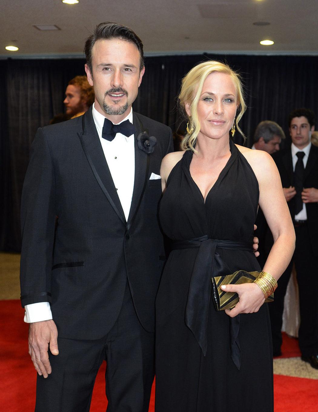 Patricia y David Arquette