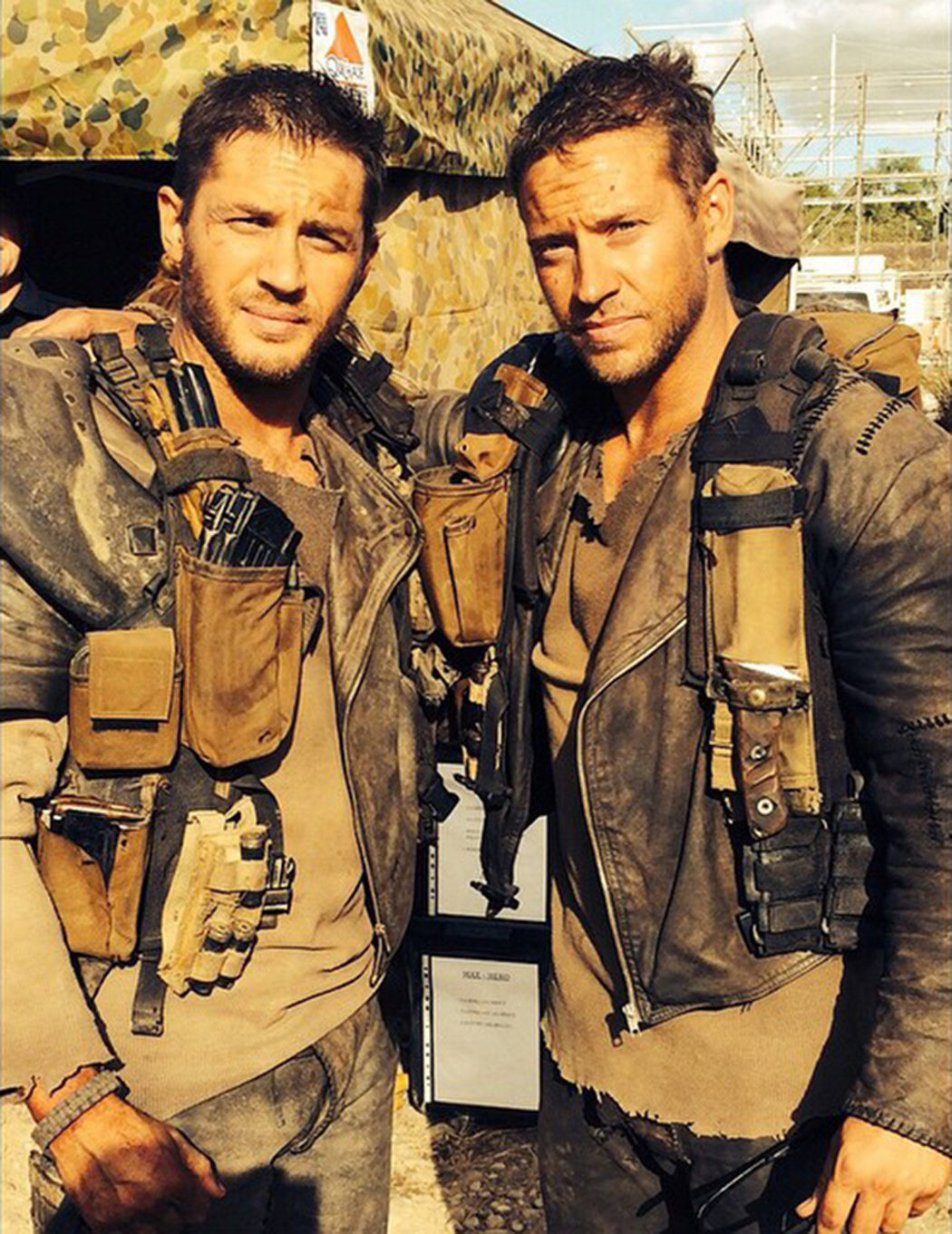 Jacob Tomuri es Tom Hardy en 'Mad Max: Furia en la carretera'