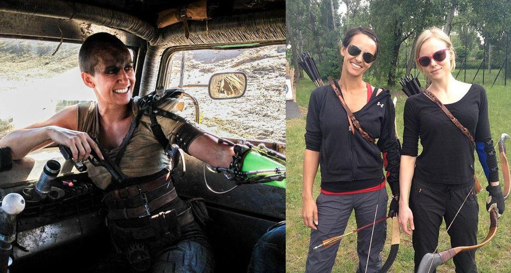 Dayna Porter Grant es Charlize Theron en 'Mad Max: Furia en la carretera'