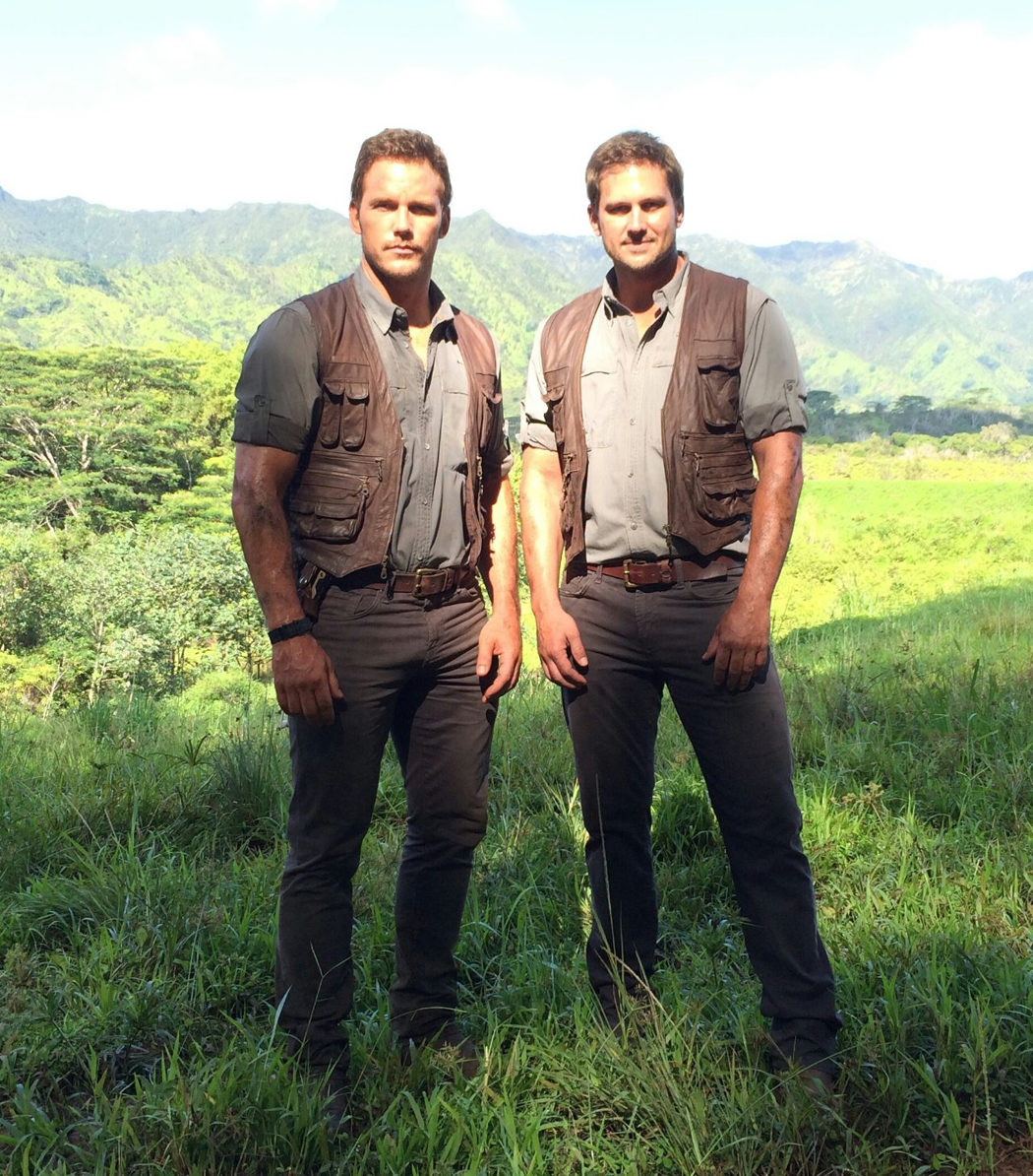 Tony McFarr es Chris Pratt en 'Jurassic World'