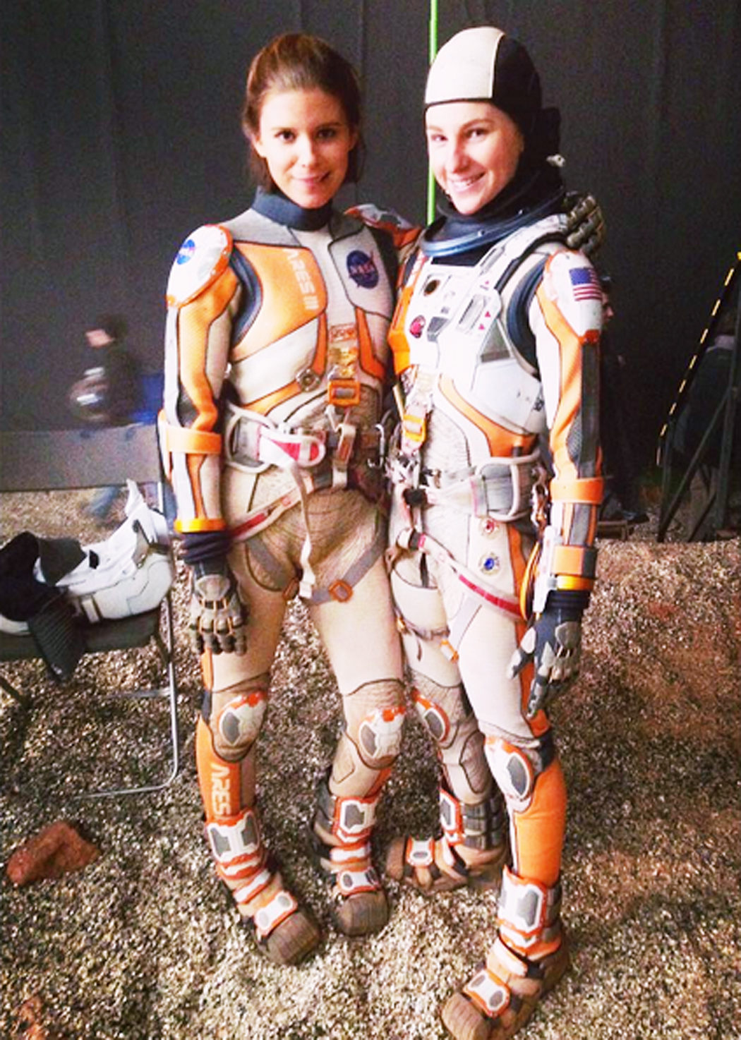 Casey Michaels es Kate Mara en 'Marte (The Martian)'