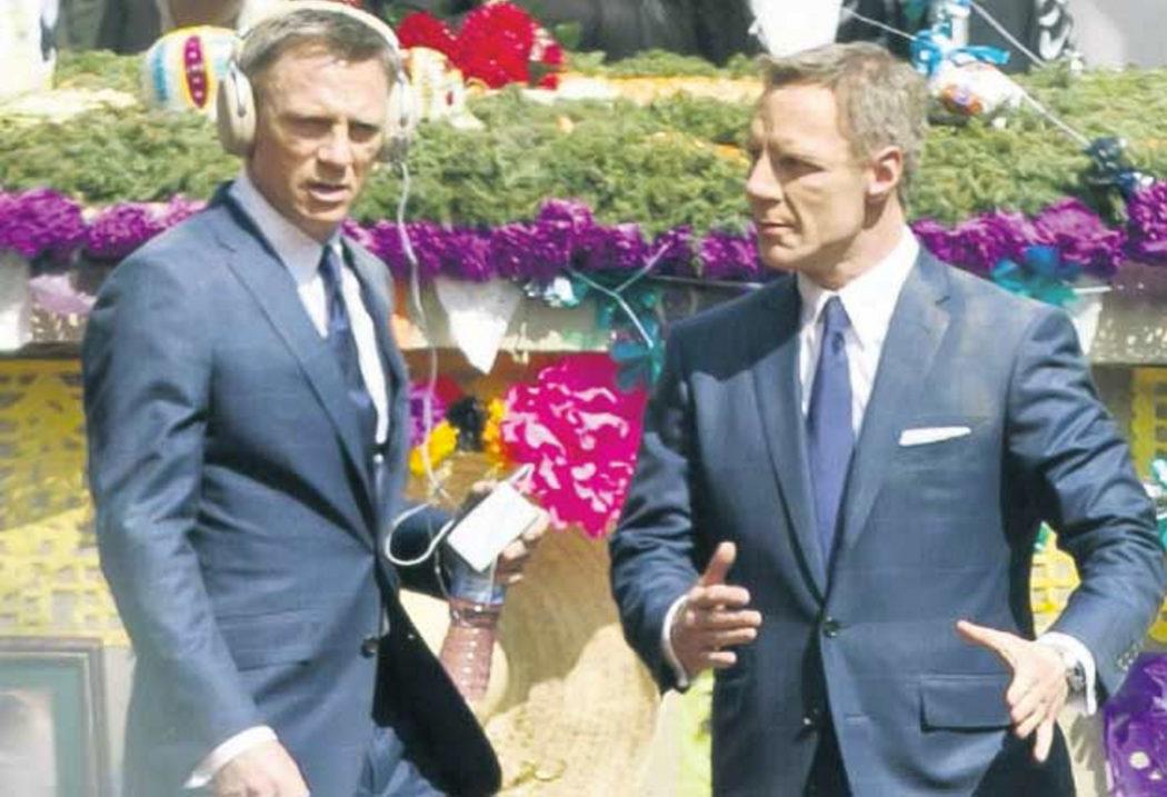 Gordon Alexander es Daniel Craig en 'SPECTRE'