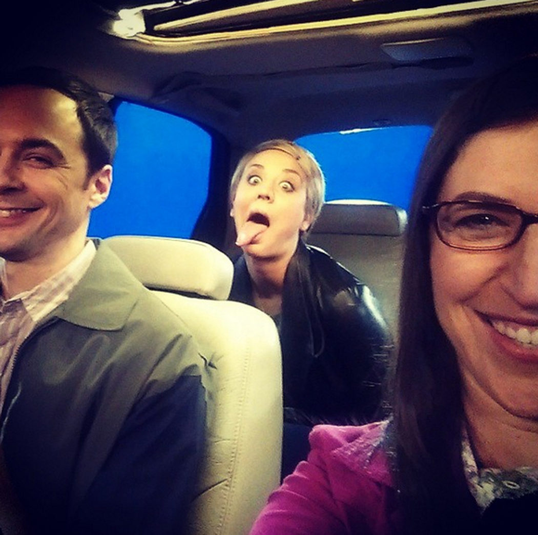Sheldon, Amy y Penny
