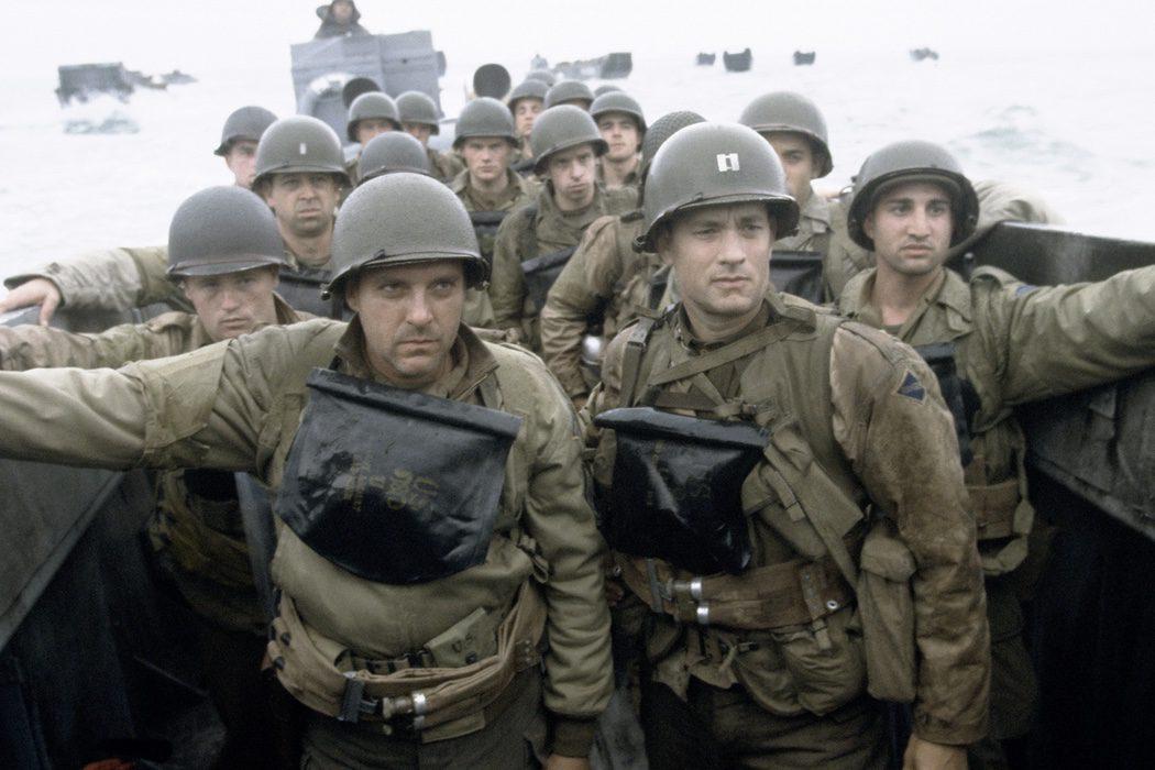 'Salvar al soldado Ryan': himnos