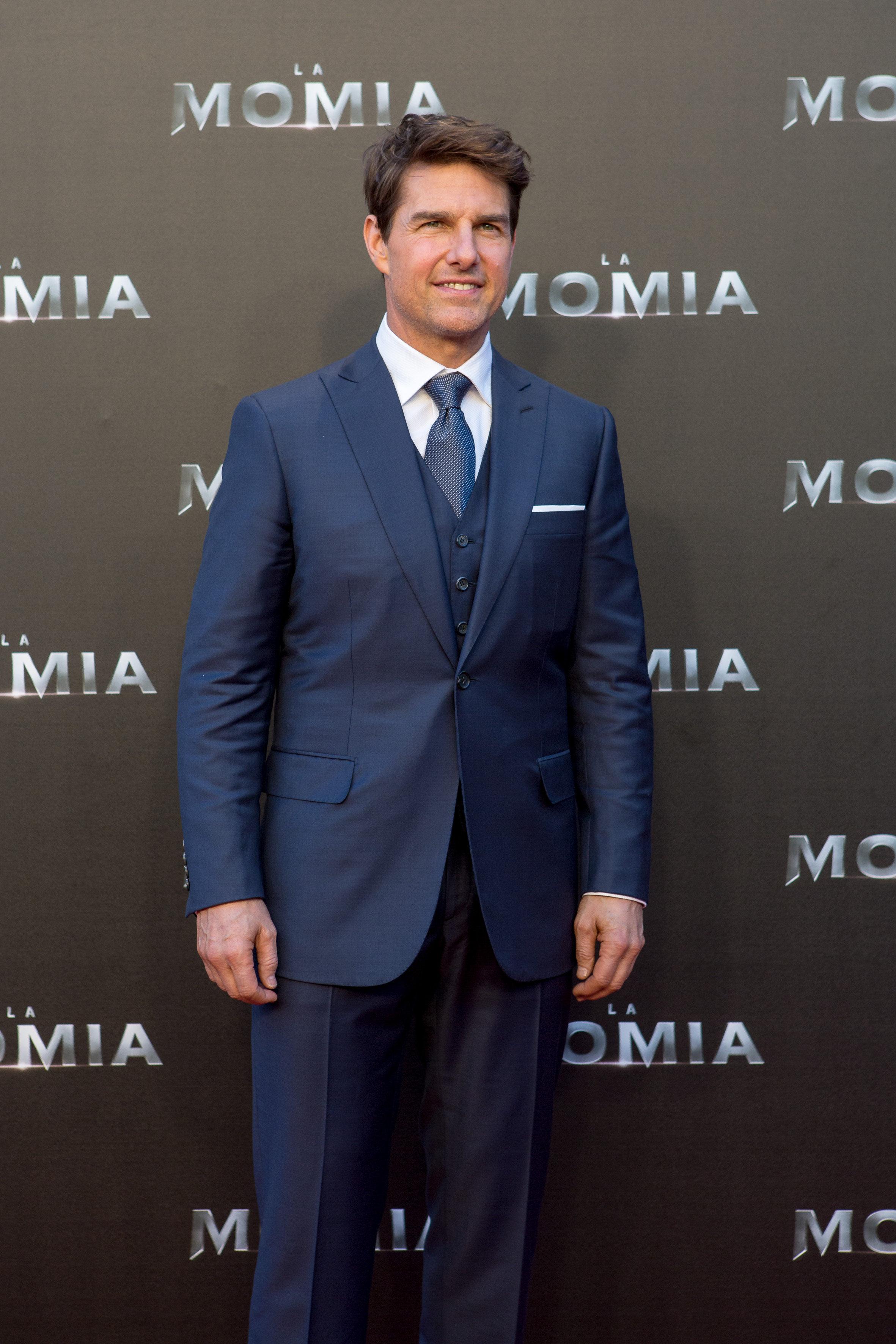 Tom Cruise, siempre elegante