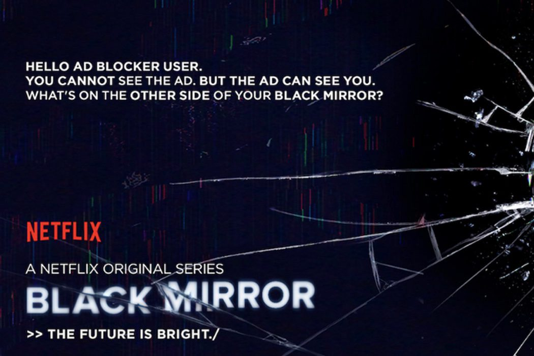 'Black Mirror' y los ad-blockers