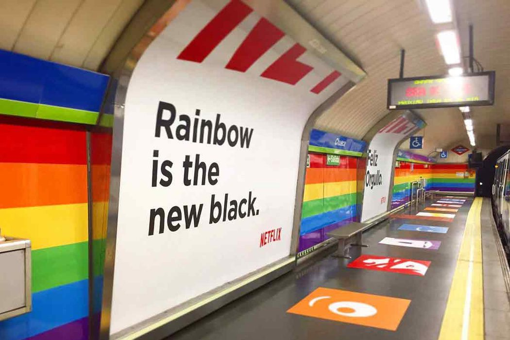 Rainbow is the new black