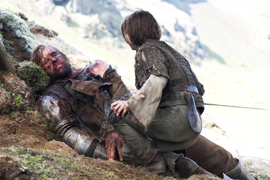 Arya abandona al Perro