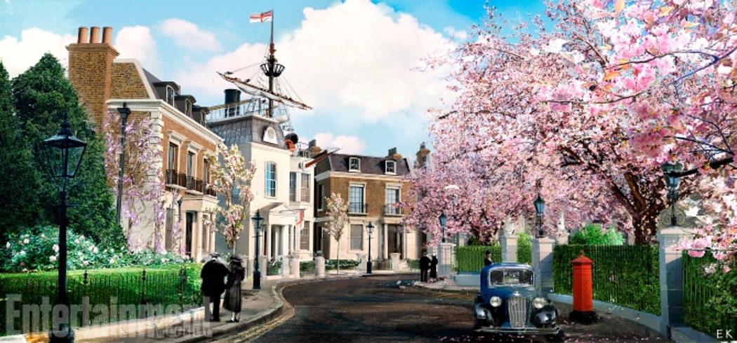 Concept Art de Cherry Tree Lane