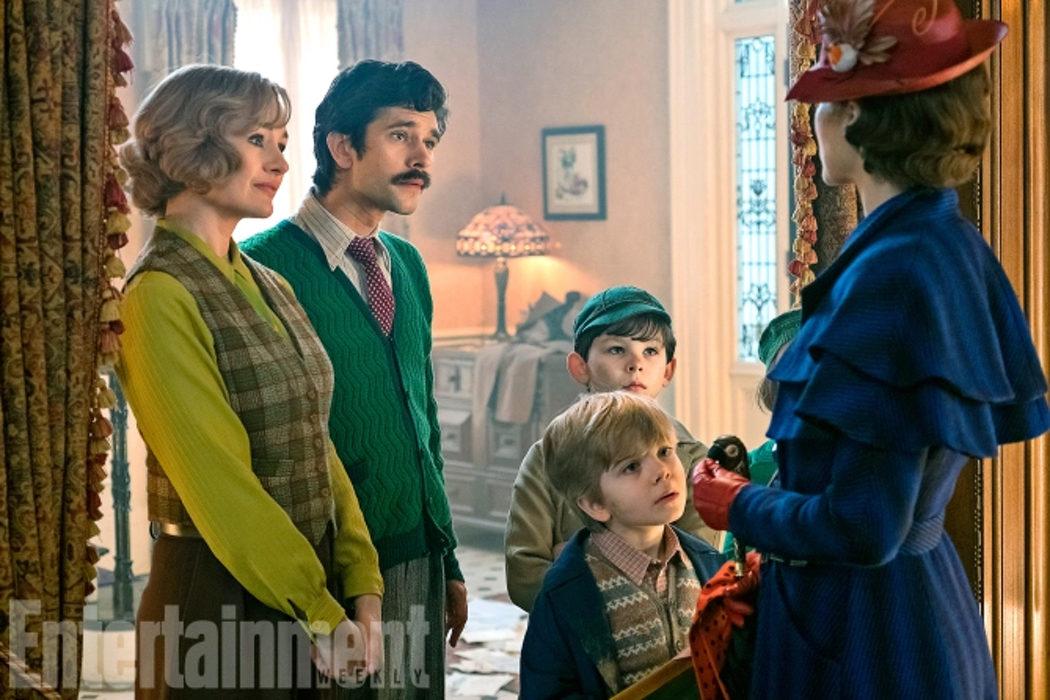 Jane y Michael Banx, los hijos de Michael y Mary Poppins