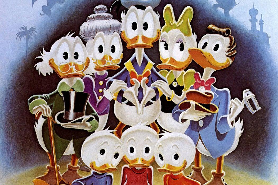 Su familia, la más numerosa de Disney