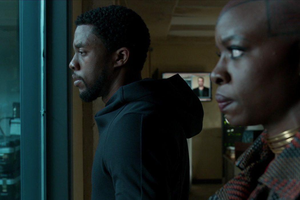T'Challa y Okoye