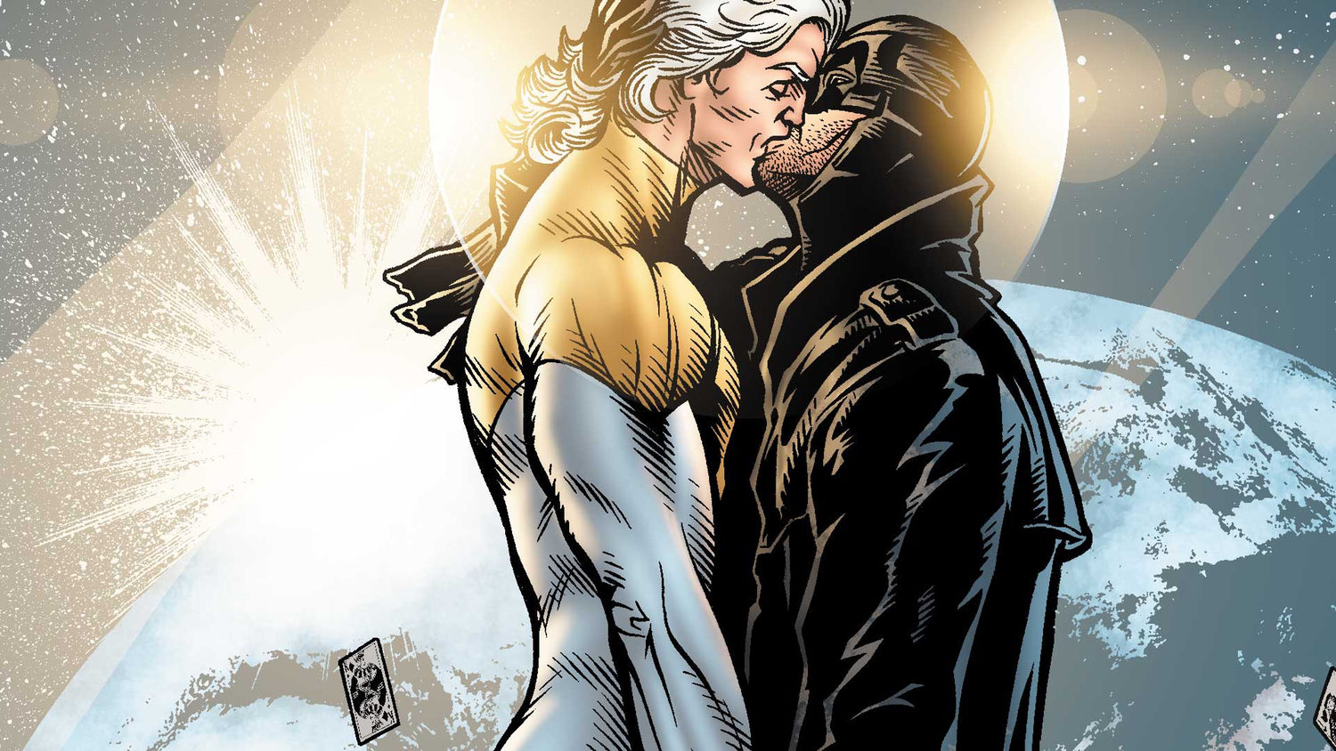G de gay. Midnighter (y Apollo)