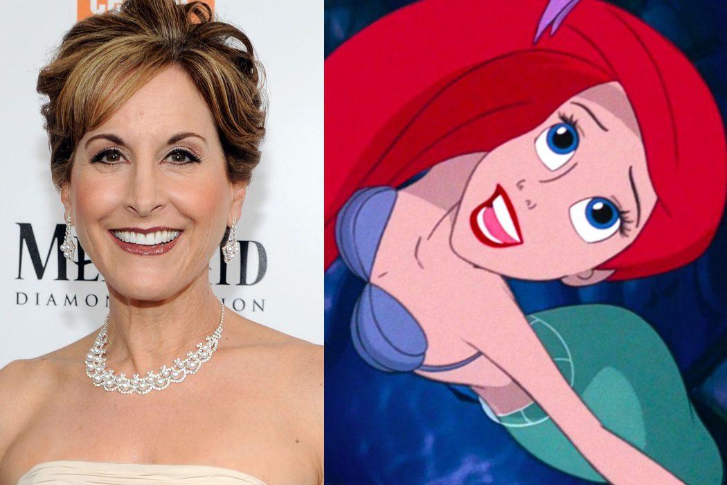 Jodi Benson es Ariel en 'La Sirenita'