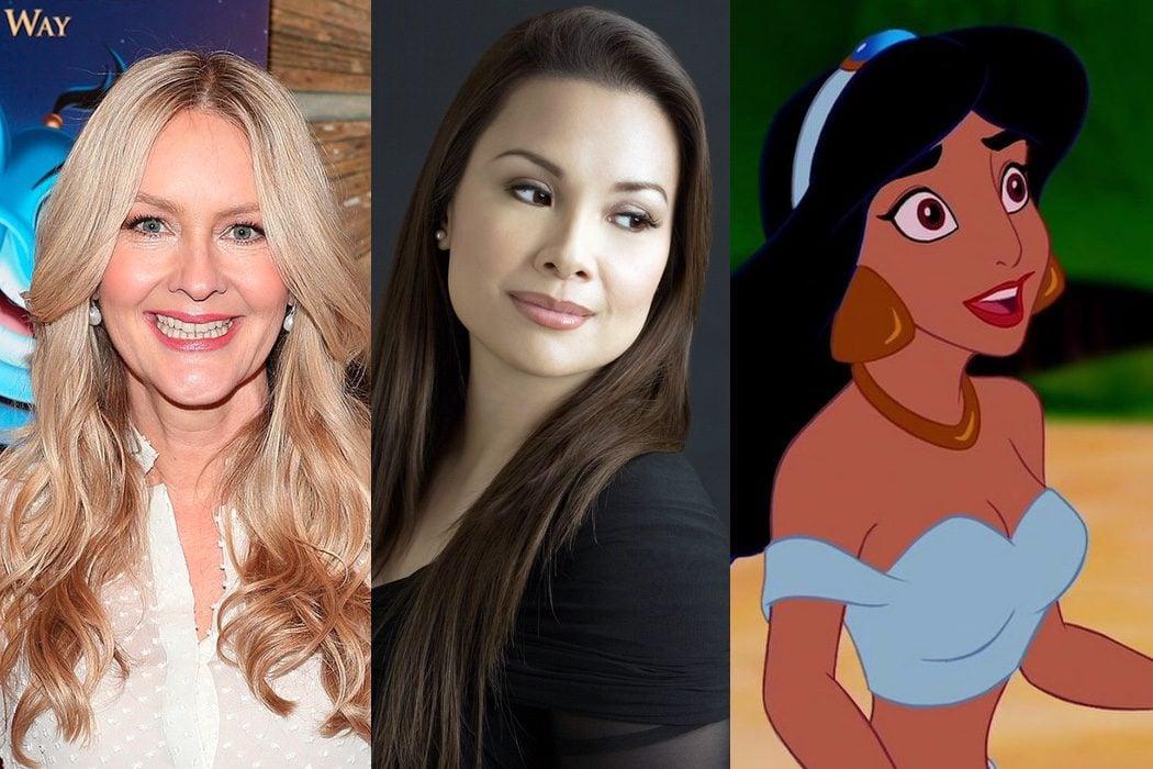 Linda Larkin y Lea Salonga prestaron su voz a Jasmine en 'Aladdin'