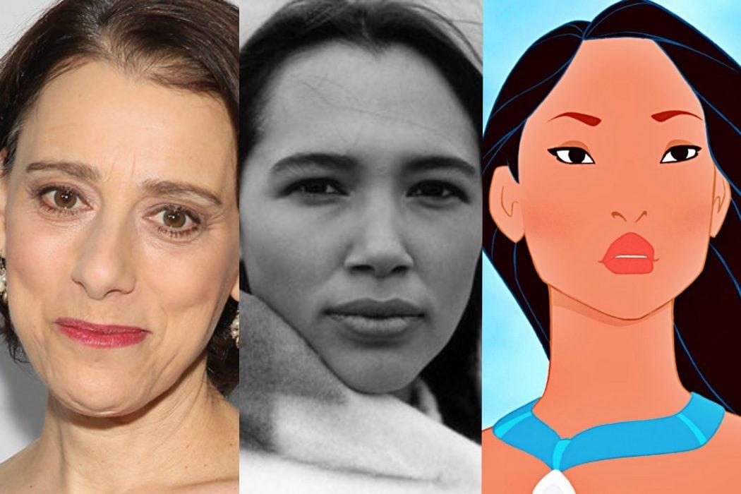 Alaska Native y Irene Bedard prestaron su voz a 'Pocahontas'
